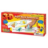 3-D Sight Word Sentences, Preprimer Level Dolch Words