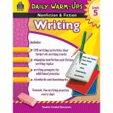 Daily Warm-Ups: Nonfiction & Fiction Writing, Grade 5