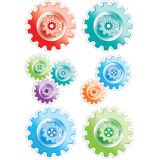 Designer Cut-Outs, Gears, 6