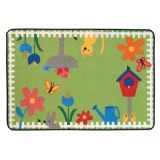 KID$ Value Rugs™, Garden Time, 4' x 6'