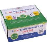 F.U.N.™ Empty Number Line Card Sets, Grades 4-5