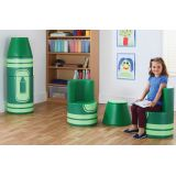 Crayon Seating, Green