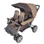 LX4™ Four Child Stroller, Earth Scape