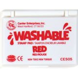 Washable Stamp Pad, Red
