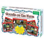 Listening Lotto: Sounds on the Farm Game