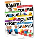 Baby Talk Board Books, Set of all 6