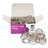 Book Rings, 1, Box of 100