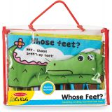 K's Kids® Whose Feet? Cloth Book