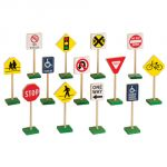 Block Play Traffic Signs, 7