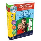 Interactive Whiteboard Lesson Plans, Sight & Picture Words Big Box