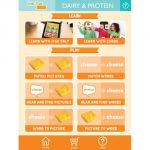 Link4Fun® Cards, Protein & Dairy