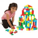 Painted Blocks, 100-Piece Set
