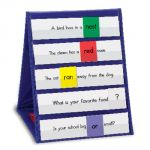 Double-Sided Tabletop Pocket Chart