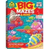Big Workbook Mazes, Grades 1-3
