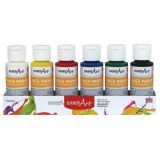 Handy Art® Washable Face Paint Kit, Primary colors, 2 oz. bottles, Set of 6