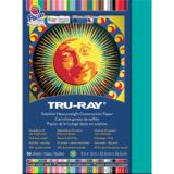 Tru-Ray® Fade-Resistant Construction Paper, 9 x 12, Turquoise