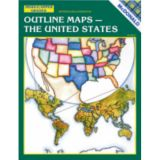 The United States Outline Maps Reproducible Book