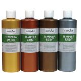 Handy Art® Metallic Tempera Paint, 16 oz., Bronze