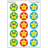 Emoji Stars Stinky Stickers®, Large Round