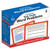 CenterSOLUTIONS™ Task Cards: Word Problems, Grade 4