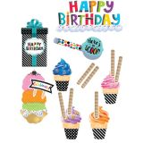 Bold & Bright Happy Birthday Mini Bulletin Board Set