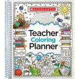 Teacher Coloring Planner