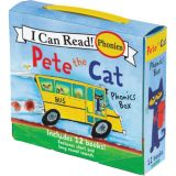 Pete the Cat Phonics Box, 12-Book Set