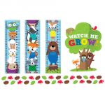 Woodland Friends Growth Chart
