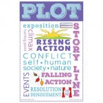 Elements of Literature Chatter Charts, Set of 8