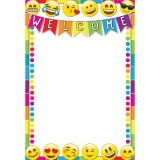 Emoji Welcome 13 x 19 Smart Poly™ Chart