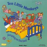 Classic Books with Holes plus CD, Ten Little Monkeys