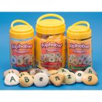 Alphabet Pebbles, Uppercase