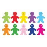 Die Cut Accents, 7 Rainbow People
