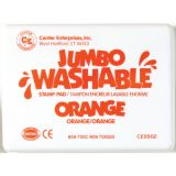 Jumbo Washable Stamp Pad, Orange