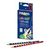 Prang® Groove Colored Pencils, 12 count