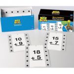 Hot Dots® Flash Cards, More Addition