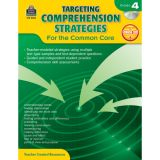 Targeting Comprehension Strategies for the Common Core, Grade 4