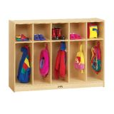 Toddler 5-Section Coat Locker