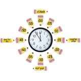 Telling Time Bulletin Board Set