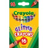 Crayola® Glitter Crayons, 16 colors
