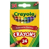 Crayola® Regular-Size Crayons, 24 colors