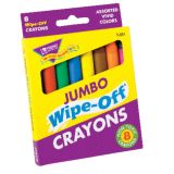 Wipe-Off® Crayons, Jumbo