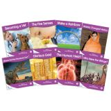 Fantails™ Book Banded Readers, Purple Non-Fiction, Levels K-M