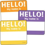 Colorful Cut-Outs® Assorted Designs, Hello Tags