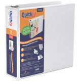 QuickFit® D-Ring View Binder, 3