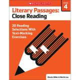 Literary Passages: Close Reading, Grade 4