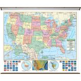 U.S. Primary Wall Map