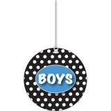 B/W Dots Boys Hall Pass