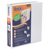 QuickFit® D-Ring View Binder, 1-1/2