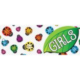 Laminated Hall Pass, Ladybug Girls Pass